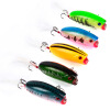 1PC Hard Fishing Lures 5.7cm-2.24 /10.42g-0.37oz Crank Bass Bait 10 Color Fishing Tackle 8 # High Carbon Hook Fishing Baits кий для пула 2 pc valhalla 003