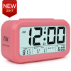 цены Digital Alarm Clock Student LCD Display Snooze Kids Clock Light Sensor Calendar Temperature Date Nightlight Office Table Clock