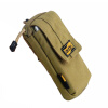 Double-layer 5.5-inch large-screen mobile phone EDC thin men's waist wrapped arm bag package package nylon as gift for men bubm outside sport running arm package wrist bag for mobile phone