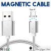 Keymao Magnetic Phone kabel data Type-C Micro USB Charger  Cable for iPhone 7 7 plus 6 6s Plus iPad Samsung S6 S7 S8 plus micro usb port magnetic adapter charger for android micro usb charging flex cable for smart phone