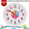 12 Inch Plastic Kids Wall Clock Slient Safe Colorful Cartoon Clcok Children Wall Clock Funny Interesting Child Learn Clock cindiry 2017 cartoon children watch cute wristwatch fashion girls boys kids silicone quarts watches student sports clock gift