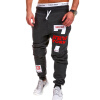 Mens Joggers Brand Male Trousers Men Pants Casual   Pants  Sweatpants Jogger Black XXXL ADBBB недорого