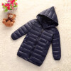 Girls Winter Light White Down Coat Kids Jacket Hooded Long Sections Children Clothes Receive Warm Parka Outerwear Snowsuit TZ148 fashion girl thicken snowsuit winter jackets for girls children down coats outerwear warm hooded clothes big kids clothing gh236