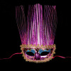 Halloween Festival Party Sexy Mask Decoration Карнавальные аксессуары plastic standing human skeleton life size for horror hunted house halloween decoration