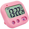 Student Alarm Clock Digital LCD Travel Clock Kitchen Timer Countdown Snooze Full Vision Vibration Table Clock Loud Alarm 3 Alarm novelty run around wake up n catch me digital alarm clock on wheels white 4 aaa