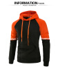 Brand 2017 Hoodie New Spell Color Hip Hop Hoodies Men Fashion Tracksuit Male Sweatshirt Off White Hoody Mens Purpose Tour XXXL new 2017 hats for women mix color cotton unisex men winter women fashion hip hop knitted warm hat female beanies cap6a03