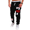 Mens Joggers Brand Male Trousers Men Pants Casual   Pants  Sweatpants Jogger Black XXXL ADBBB moruancle fashion mens black plain jeans pants slim fit stretch solid denim joggers brand designer jeans trousers for male e0275