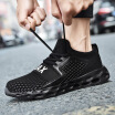High-elastic rubber-plastic shock-absorbing sports shoes for wear-resistant shoes wear-resistant running shoes breathable t