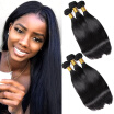 YAVIDA Hair Straight Brazilian Virgin Hair 3 Bundles Human Hair Extensions Brazilian Straight Hair Weaving Brazilian Hair Weave