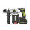 Wick WORX 20V lithium battery large capacity brushless electric hammer WU388 industrial grade rechargeable electric drill hammer drill impact drill co