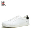 APPLE womens & mens sport shoes white comfortable leather running shoes for men