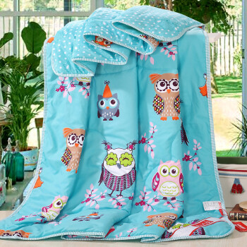 Jiuzhou deer home textiles summer can be washed summer cool air-conditioned by the Korean version of the summer thin quilt spring filled 150x200cm