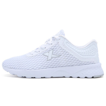 XTEP sports shoes couple female breathable leisure mesh simple&breathable comfortable woman casual shoes white 39 yards