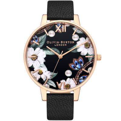 Olivia Burton womens watch female dream small daisies student girl imported fashion quartz watch 2019 spring&summer new OB16BF04