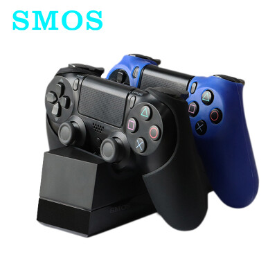 SMOS Sony game controller charging stand PS4 handle double charge normal version