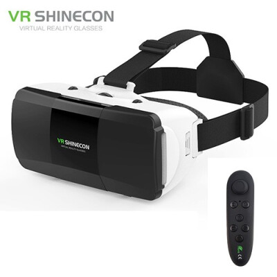 Shinecon G06D 3D Glasses Virtual Reality VR Virtual Reality for iphone 360 Degree Android VR Glasses for Smartphone with Remote
