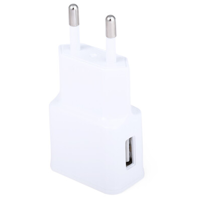 EU Plug Wall Charger USB Single Port Charging Adapter for Travel Home