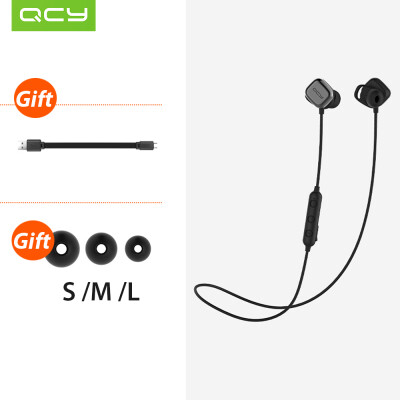 Xiaomi QCY M1 Pro BT Wireless Earphone Sports Headset Stereo Earpieces with Magnetic Switch Microphone Volume Control For Android