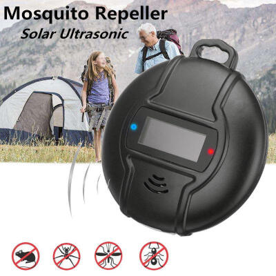 Mini Cute Solar Micro USB Powered Ultrasonic Mosquito Pest Spider Repellent Tool
