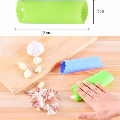 Outdoor Silicone Garlic Peeler Tube Peel Easy Useful Kitchen Tools BPA Free set of 2