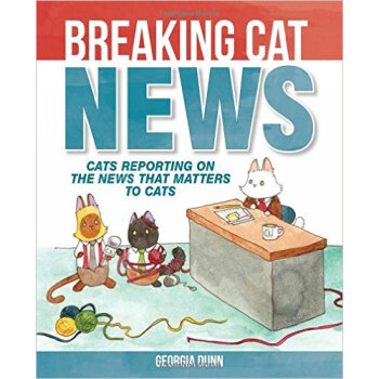 Breaking Cat News: Cats Reporting on the News Th