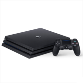 索尼(Sony) PlayStation®4 PS4 Pro 1T 游戏机 黑色