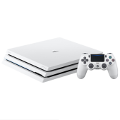 索尼(Sony) PlayStation®4 PS4 Pro 1T 游戏机 白色
