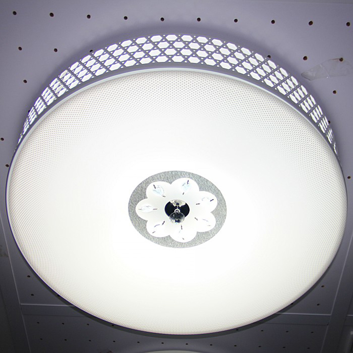 Op (OPPLE) Ceiling Modern living room ceiling with decorative crystal diamond-MX656 114 Watt White