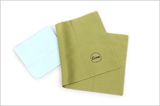 Alma (ERMA) portable equipment imported from Japan, microfiber lens cloth (green)