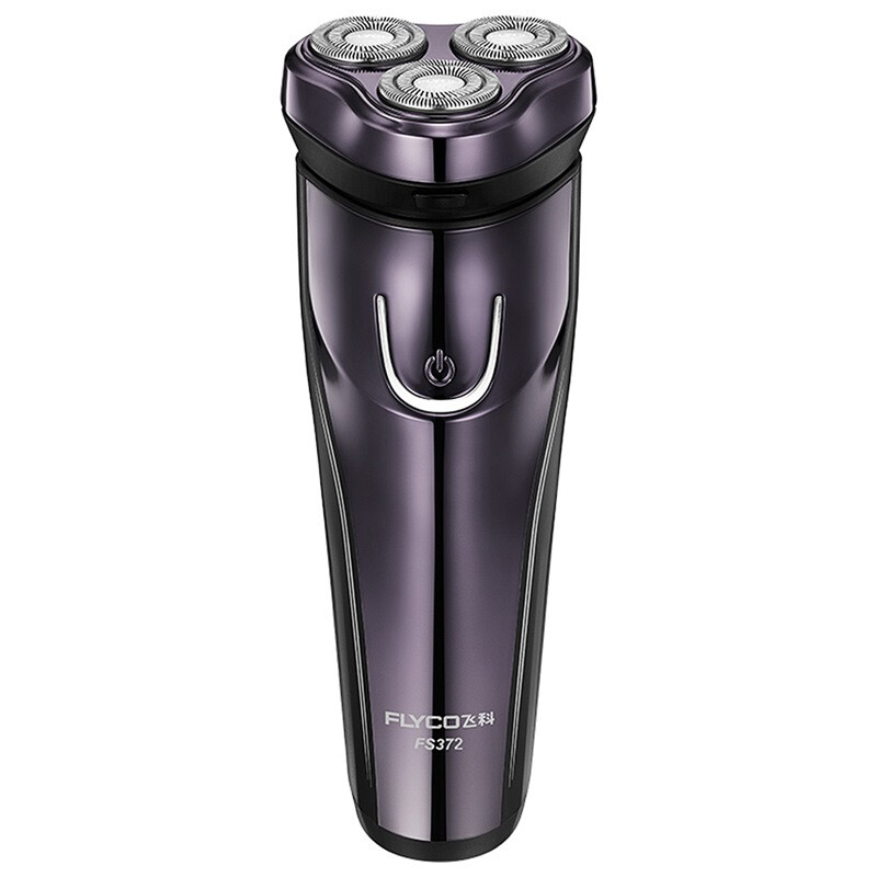 FLYCO FS372 Washable Rotary Electric Shaver Razor with 3D Floating Structure