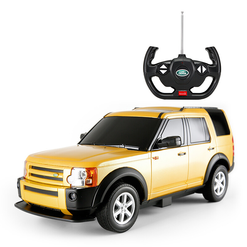 rastar car 1 14 land rover discovery 3 simulation remote control car model 21900 yellow rc. Black Bedroom Furniture Sets. Home Design Ideas