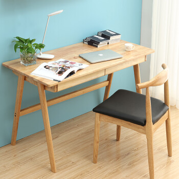 simple home furniture. Chiya Solid Wood Computer Desk Simple Home Table Desktop Study Bedroom Fruiting Wooden A-\ Furniture