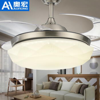 Aohong stealth ceiling lamp restaurant led simple fan lamp living view seller other 5 products aohong stealth ceiling aloadofball Choice Image