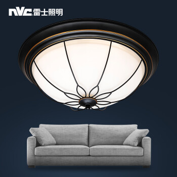 NVC lighting American Retro round l& rural iron l& bedroom warm dining room l& study light Serena 24 watts three tonal light ?480*190mm - Shop @ ezbuy ... & NVC lighting American Retro round lamp rural iron lamp bedroom warm ...