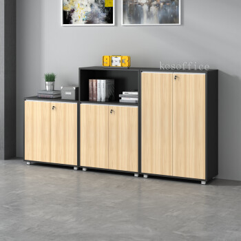 wood office cabinet. Kai Shuo Office Furniture Cabinet Low A4 Data Locker With Lock Wooden Bookcase Printer Tea Wood Grain O