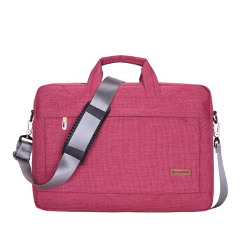 114927b9714 Volonte apple Lenovo laptop bag ipad tablet business Briefcase Oxford cloth  Waterproof bag rose Red 14 inch
