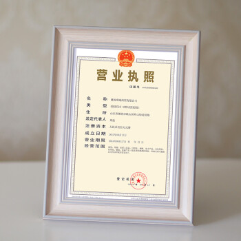 New business license Frame Business License Photo Frame business ...