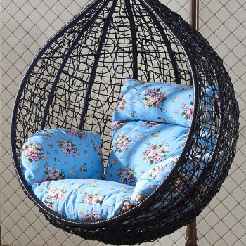 Giant Home Hanging Basket Chair Outdoor Indoor Balcony Swing Chair Chair  Rocking Chair Armchair Single Without Armrest Black   Shop @ Ezbuy Singapore