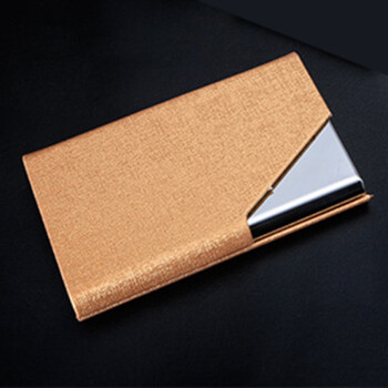 Business card folder card holder commercial skin type magnetic business card folder card holder commercial skin type magnetic suction office card box creative portable business card storage tyrants gold shop ezbuy reheart Image collections