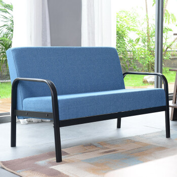 simple wooden sofa chair. Fine Sofa Yue Ying Furniture Sofa Simple Fabric Nonsolid Wood Doubleseat  Living Room Chair Blue  Shop  Ezbuy Singapore Inside Simple Wooden Sofa