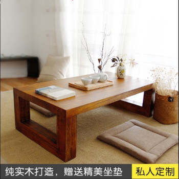 Solid Wood Window Table Tatami Tea Simple Kang Balcony Low Small 100 55 30 Pack Ez Singapore