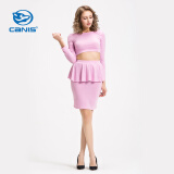 Dresses-CANIS@Women's Bandage Bodycon Croptop Skirt Set on JD