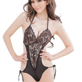 Lingerie, Sleep & Lounge-CXSHOWE 2015 Women Sexy Lingerie Halter V Neck Lace Backless Teddy Lingerie Exotic Sleepwear 4 Colors on JD
