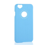 All Categories-NEW Ultra Slim Lovely Love Heart Phone Case Cover Skin For iPhone 6 6Plus  SKY BLUE on JD