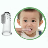 Bedding & Bath-Baby Kid Soft Silicone Finger Toothbrush & Gum Massager Brush Clean Teeth on JD