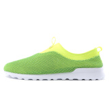 Sports Footwear-Hongxing Erke Erke ERKE men's shoes casual shoes mesh sports shoes a pedal lazy shoes 51115202128 deep green / fluorescent lemon yellow 40 yards on JD