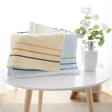 BEYOND Towel 34 * 74cm blue / pink / brown random color delivery 1 Piece