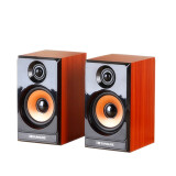 Three Xu M20 wooden mini speaker USB2.0 desktop computer speaker phone multimedia shadow box