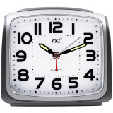 Large Digital Alarm Clock Silent Nightlight Alarm Clock Smart Light Sensor Dimmer Snooze Travel Desk Clock