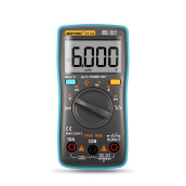 Tools & Hardware-Auto Digital Multimeter 6000 Counts Backlight AC/DC Transform Ohm Ammeter Resistance Capacitance Temperature Tester Meter ZT102 on JD